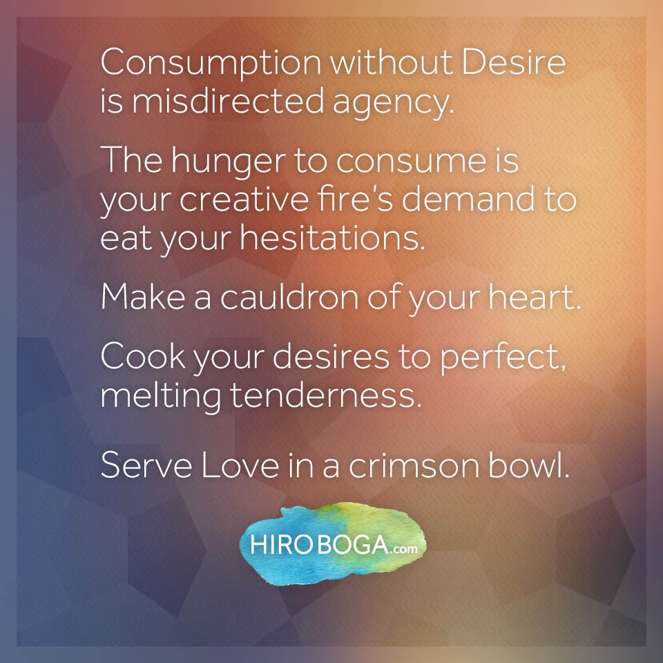 consumption-without-desire