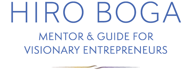 MENTOR & GUIDE FOR VISIONARY ENTREPRENEURS